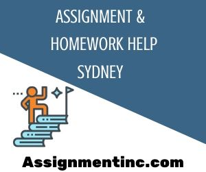 Assignment & Homework Help Sydney