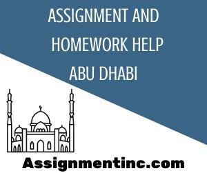 Assignment & Homework Help Abu Dhabi