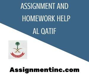 Assignment & Homework Help Al Qatif