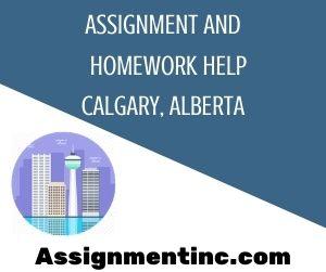 Assignment & Homework Help Calgary, Alberta