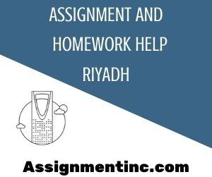 Assignment & Homework Help Riyadh