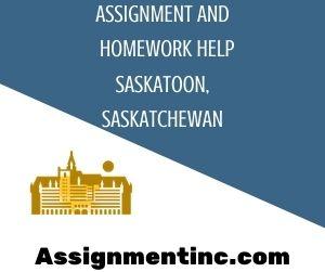 Assignment & Homework Help Saskatoon, Saskatchewan
