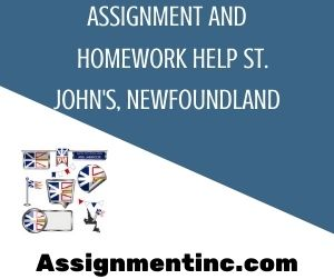 Assignment And Homework Help St Johns Newfoundland