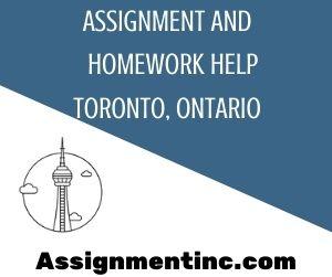 Assignment & Homework Help Toronto, Ontario