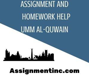 Assignment & Homework Help Umm Al-Quwain